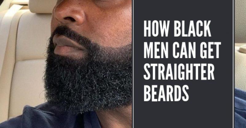 Incredible How Black Men Can Get Straighter Beards Afreshshave Com Schematic Wiring Diagrams Amerangerunnerswayorg